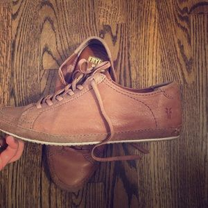 Frye leather sneakers